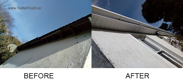 Gutter Repairs Before After Dublin Wexford Wicklow